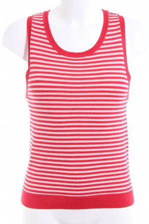 Seafolly Tanktop rot-weiß Allover-Druck Casual-Look