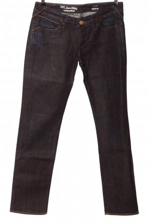 Seal Kay Straight-Leg Jeans braun Casual-Look