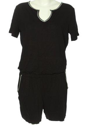 Seasons Jumpsuit schwarz-weiß Casual-Look