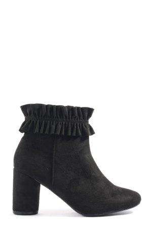 Seastar Reißverschluss-Stiefeletten schwarz Casual-Look