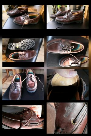 Sebago Leder Bootsschuhe neu Gr 43