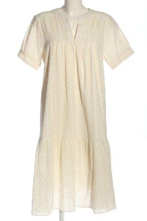 Second Female Sukienka typu babydoll kremowy W stylu casual