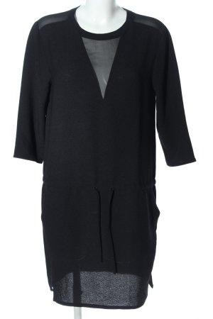 Second Female Blusenkleid schwarz Elegant