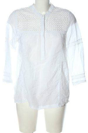 Second Female Blusa-camisa blanco elegante