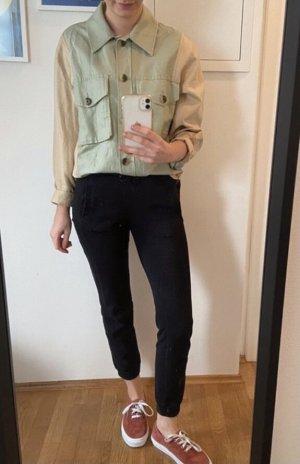 Second Female Camisa de manga larga beige claro-caqui