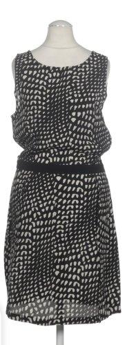 second female Kleid Xs 34 neuwertig schwarz weiß