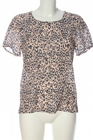Second Female Short Sleeved Blouse nude leopard pattern casual look