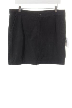 Second Female Leather Skirt black elegant