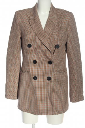 Second Female Long Blazer check pattern casual look