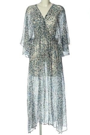 Second Female Robe longue imprimé allover style décontracté