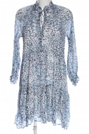 Second Female Blouse Dress abstract pattern casual look