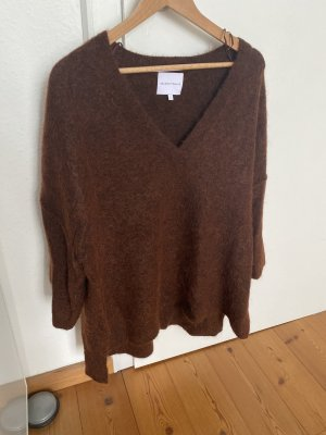 Second Female Oversized Sweater multicolored mohair