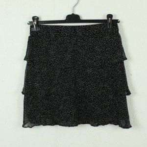 Second Female Broomstick Skirt black-white