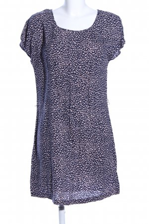 Second Female Vestido estilo camisa azul-crema look casual