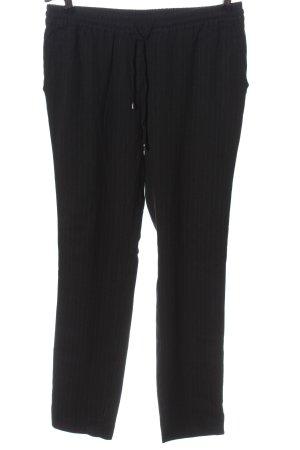 Second Female Pantalón tipo suéter negro elegante