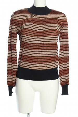 Second Female Strickpullover Streifenmuster Casual-Look