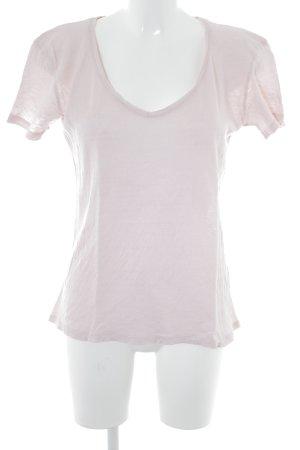 Second Female T-shirt rosa pallido stile casual