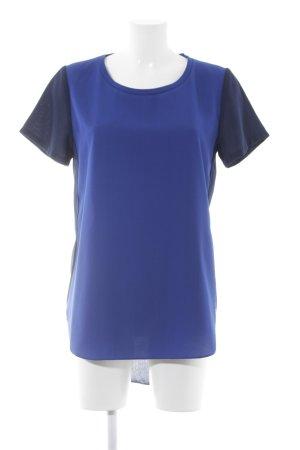 Second Female T-Shirt stahlblau-dunkelblau Casual-Look
