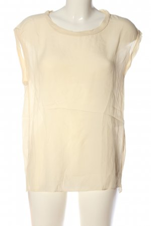 Second Female Transparenz-Bluse creme Casual-Look