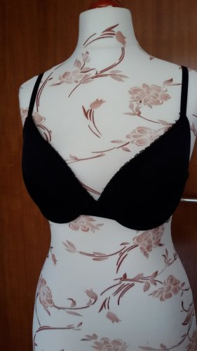 Bra black mixture fibre