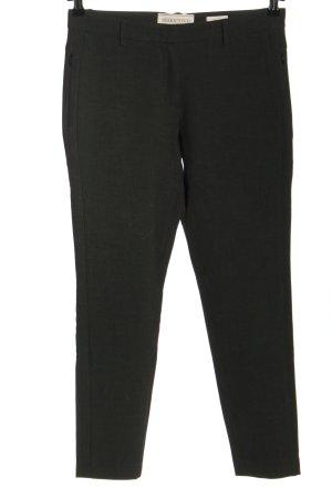 Seductive Pantalone da abito nero stile casual