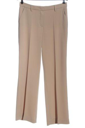 Seductive Spodnie garniturowe nude W stylu biznesowym