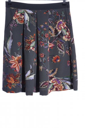 Seductive Flared Skirt allover print business style
