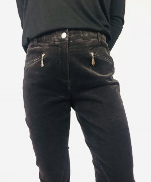 Seductive Pantalon d'équitation brun noir-brun foncé