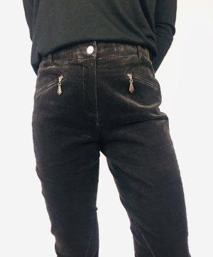Seductive Pantalone da equitazione marrone-nero-marrone scuro