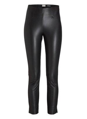 Seductive Skórzane spodnie czarny