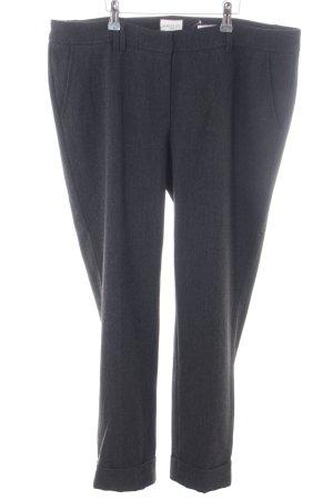 Seductive Pantalone di lana nero stile professionale