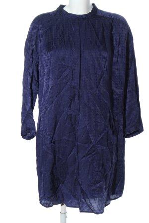 See by Chloé Blusenkleid blau Allover-Druck Elegant