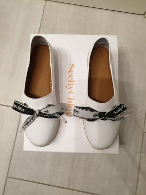 See by Chloé Pantofola bianco-nero