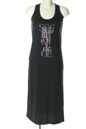 See by Chloé Jerseykleid Motivdruck Casual-Look