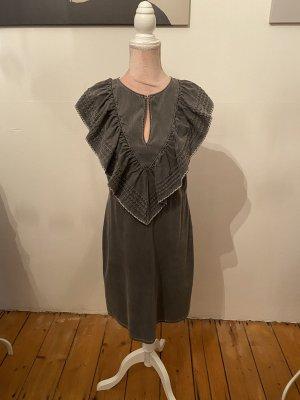 See by Chloé Robe en jean gris
