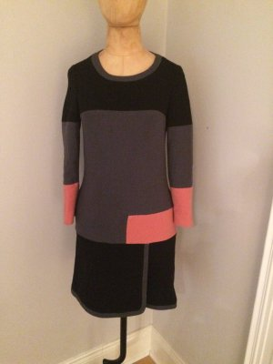 See by Chloé Sweater Dress taupe-magenta
