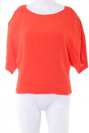 See by Chloé Kurzarm-Bluse rot Casual-Look