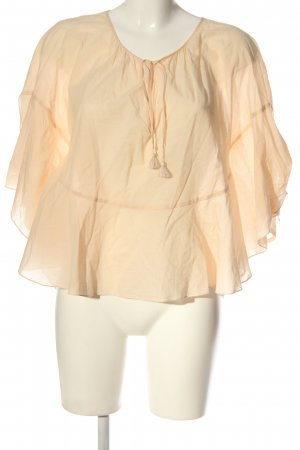 See by Chloé Kurzarm-Bluse creme Casual-Look