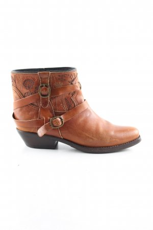 See by Chloé Kurzstiefel hellorange-braun Mustermix Casual-Look