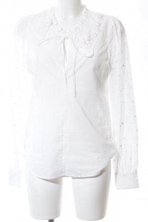 See by Chloé Langarm-Bluse weiß Business-Look