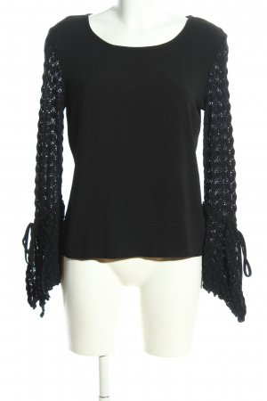 See by Chloé Langarm-Bluse schwarz Casual-Look