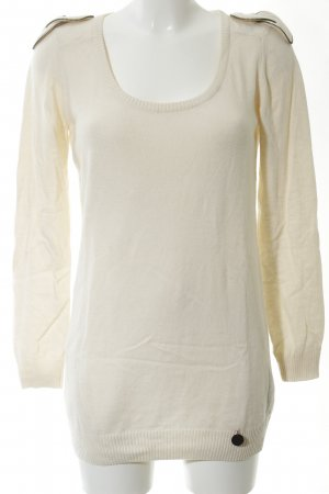 See by Chloé Longpullover wollweiß Casual-Look