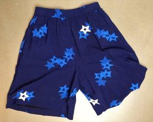 * SEE by CHLOÉ *  NEU ! SHORTS kurze Hose mit STERNEN blau weiß Gr  36 38 ( ital 40 )