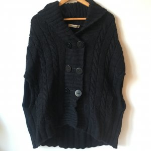 See by Chloe Poncho Wolle 38/M unisize