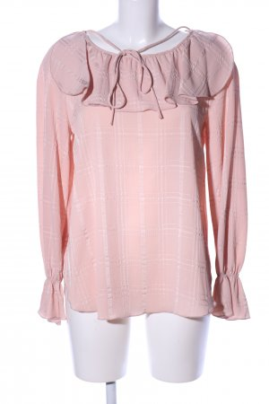 See by Chloé Ruffled Blouse pink allover print casual look