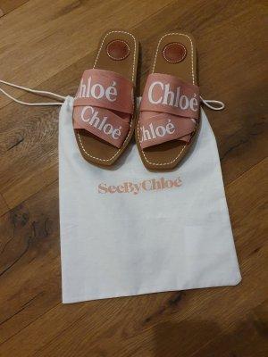 Chloé Beach Sandals multicolored
