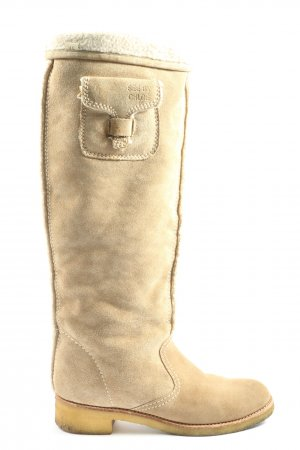 See by Chloé Schaftstiefel creme Casual-Look