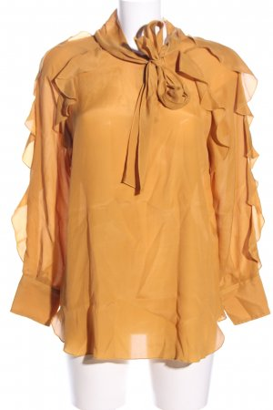 See by Chloé Schluppen-Bluse hellorange Business-Look