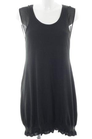 See by Chloé schulterfreies Kleid schwarz Casual-Look