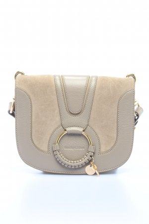 "See by Chloé Schultertasche ""Hana Crossbody Suede Smooth Motty"" wollweiß"